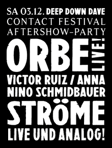 Contact Festival Aftershow-Party