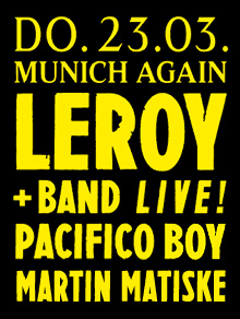 MUNICH AGAIN Thursdays