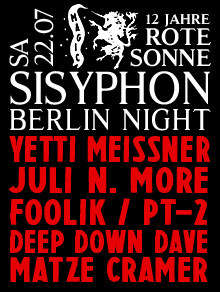 SISYPHON BERLIN NIGHT